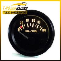 "T-Power Store: 2""(52mm)  Universal Oil pressure gauge 0-100 Psi  /auto meter/auto gauge/tachometer/car meter/Racing meter"
