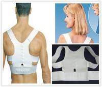Hot 1Pcs Adjustable Unisex Back Pain Feel Young Brace Shoulder Belt Posture Care Corrector Belt L/XL 871349