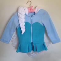 2014 Snow Queen Elsa coat kids jacket elsa costume girls Hoodies clothing for children girls winter coat children outwear Fleece