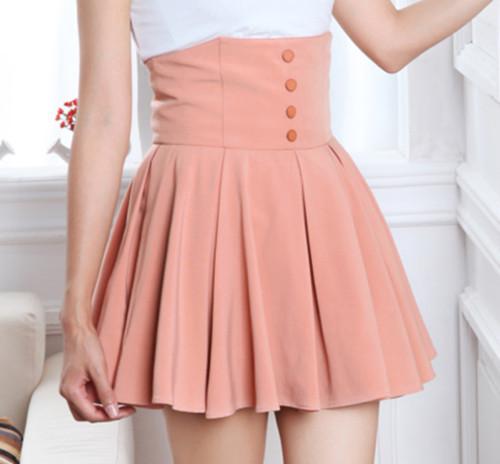 New Cute Skater Skirt Ulzzang Korean Style  Lily Asianstyle