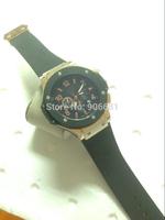2014 New hub fashion rubber Strap  Men Automatic Mechanical Watch Self Wind Watch personality design lot Men Wrist Watch