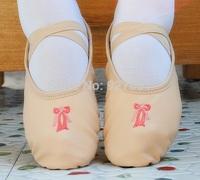 Free Shopping 2015 New Children Ballet Dance Shoes Practice Shoes Womens Dance Shoes Beige Ballet Shoes