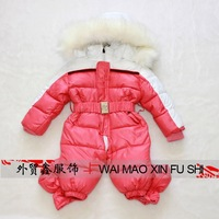 new born Baby girl boy newborn baby winter wadded jacket cotton-padded jacket infant   autumn and winter child romper