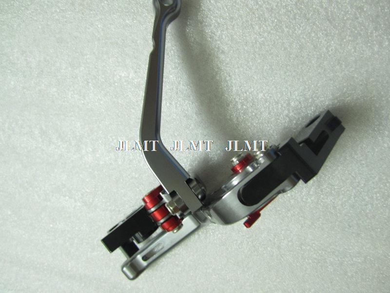 Primeira qualidade Billet dobráveis freio alavancas para Ducati Hypermotard 796 8 cores JL-F1481(China (Mainland))