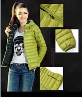 Women New 2014 Fashion Ladies Down Short Design Coat Winter Cotton-padded Jacket Slim Solid Zipper Outerwear A11
