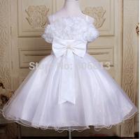 free shipping Fashion  Children Girls princess dress , flower dress, evening clothes for 3-12T