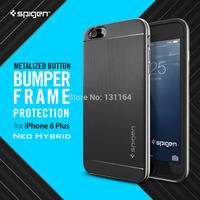 Original Spigen For iPhone 6 Plus Case Neo Hybrid Premium DUAL LAYER Metallized Buttons Hybrid Cases for Apple iPhone 6 Plus
