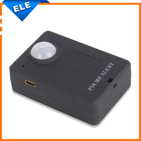2014 New PIR MP Alert A9 Infrared GSM Alarm System Alert Anti-theft Motion Detection Wireless alarm Sensor EU plug Black color
