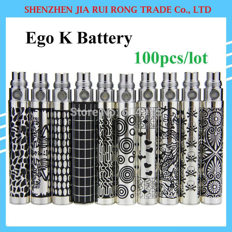 Ego King Ego K Battery Ego Series E Cigarette Battery Electric Cigarette E Cigar E Cig Ecig Battery 650/900/1100mah 100pcs/lot(China (Mainland))