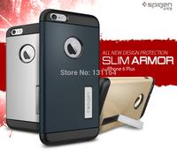 """Genuine Slim Armor for iPhone 6 Plus, Original Spigen SGP Premium Dual Layered Rounded Edge Cases for Apple iPhone 6 Plus (5.5"""")"""
