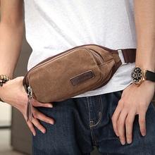 Men waist bag canvas travel messenger bags outdoor multifunctional sports small handbag Free Shipping  ZA0019/L(China (Mainland))
