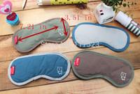 Free shipping 1PC    Sleeping Eye Mask Blindfold with Earplugs Shade Travel Sleep Aid Cover Light Guide Wholesale
