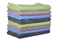 (Pack of 8 Pieces) 4 Colors 36cmx36cm Microfiber Towel Car Wash Cleaning Auto Detailing Kitchen Cleaning Cloths Car care towels