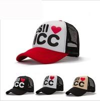 YES I love MCC mesh cap  Hip Hop truck cap  Men cap  Korean baseball cap