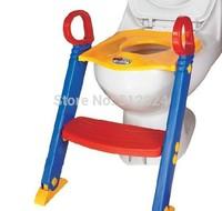 drop shipping folding infant children potty chair folding toilet seat chair