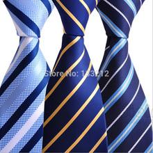 20 Colors Men's Ties-2014 Brand New Fashion Casual Designer Arrival Gentlemen Neckties Men Formal Business Wedding Party Ties(China (Mainland))