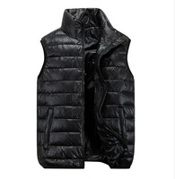 The New 2014 Men Leisure Down Vest Men'S Outdoor Thickening Down Vest