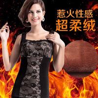 1 PCS new super soft warm vest Materials Cotton lun+Spandex+Micro-velboa warm body sculpting vest Slimming Size XL-XXL-XXXL L842