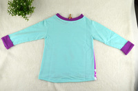 New Arrival Frozen Clothing Girl Long Sleeve T Shirt Princess Elsa and Anna Printing Girl Tops Kids Autumn Clothes