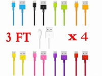4x8Pin USB Data Sync Charger Cable Cord for iPod nano 7th generation