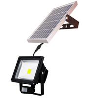 Solar Powered Panel 20W Outdoor Waterproof LED Spot Lights PIR Motion Sensor Flood Lamps Wall Lampada Solar Luminaria