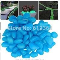 200 Pcs Luminous Cobblestones Pebbles Stones Glow in the Dark for Aquarium Fish Tank Gravel Decorations,Fantastic Garden or Yard