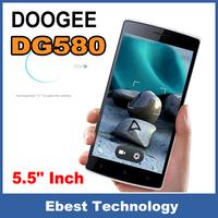 Presell Original Doogee KISSME DG580 Smartphone 5.5 Inch MTK6582 1.3GHz Android 4.4 1GB RAM 8GB ROM 8MP Dual SIM QHD Screen
