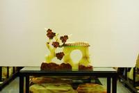 Jade crafts, jade furnishing articles, feng shui furnishing articles, plum blossom hut