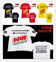 Customization Steelseries Navi Natus Vincere t shirt Gaming team Jersey men & women aliens tees fashion Network Game jersey