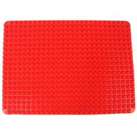 Pyramid Bakeware Low Fat Silicone Cooking Pad Non-Stick Baking Mats Cooking Tools 14091201