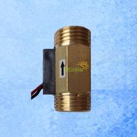 "24V USC-HS21TI Brass Hall Effect Flow Sensor for water flow rate measurement 1-30 BSP1/2"""