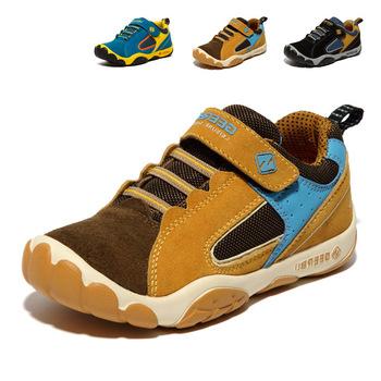 2015 осень детская обувь обувь для девочек мальчиков бренд обувь модели - высший сорт матовой кожи кроссовки спортивная обувь торговля