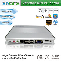 MPB-Multi-media player box with CPU Intel Celeron 1037u dual core 1.8GHz