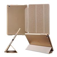 "Ultra Slim Case For iPad Mini iPad Retina 2 7.9"" Flip Design Stand Smart Cover PU Front PC Back Champagne Gold Drop Ship"