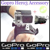 Sj5000 sj4000 Gopro Accessories handheld selfie Strap For Camera hero3 hero2 Hero 3 type Wrist Band Shell With Black edition