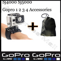 Sj5000 Sj4000 Gopro Accessories Arm Velcro Wrist Screw For Go pro Hero 1 2 3 4 Hero4 Hero2 Hero3 Hero3+ Hero4 Black Edition
