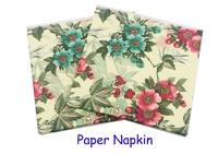 Food-grade Flower Paper Napkin Cartoon Festive & Party Tissue Napkin Supply Party Decoration Paper 33cm*33cm 1pack/lot