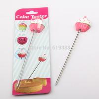 cake testing needle Stirring Rod Long Pin 14cm Bread Probe Stainless Steel Baking Tools