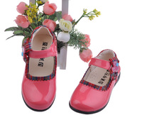 2014 Spring and Autumn latest bright patent leather party shoes girls shoes mouth princess shoes children shoes