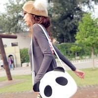 2014 new cute panda bag big bag Korean female bag diagonal fashion personality tide bag casual street style bag for