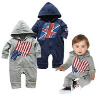 2014 New Autumn boys clothes Casual Long Sleeve Cartoon Hooded hoodies pants boys clothing sets 2Pcs set 2 Colors K6318