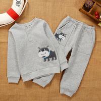 Carter Brand Autumn winter children clothing set boy clothes kids clothes sets Pullover + pants Children clothing D50-005
