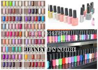 5 x CANNI Gel Polish Shellac Soak Off Fashion Colour LED Glitter Tips Deco 7.3ml Select Color