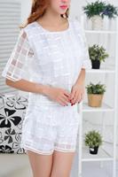 2014 Summer Fashion organza suit comfortable sport wear breathable