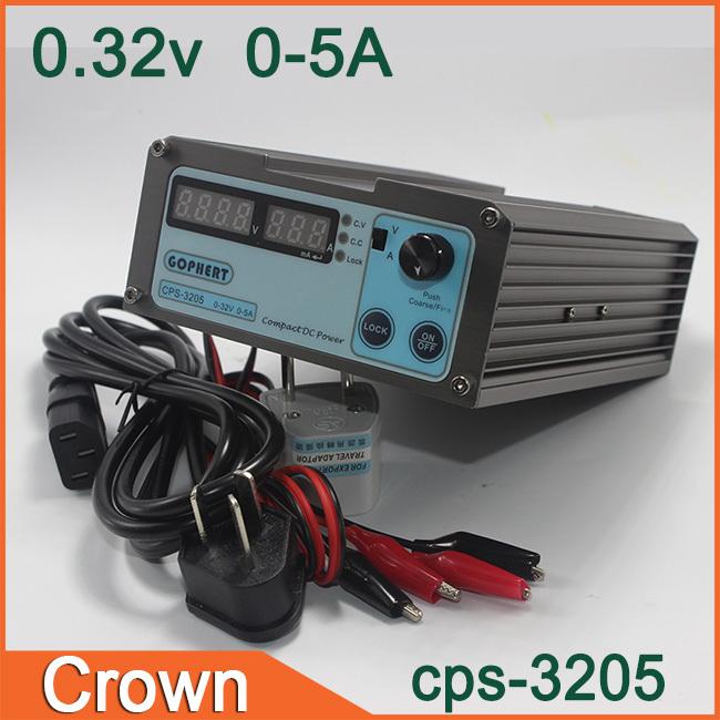 precision Compact Digital Adjustable DC Power Supply+alligator clip wire OVP/OCP/OTP low power 32V5A 220v 0.01V/0.01A(China (Mainland))