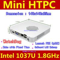 WatchDog+Wake with Fixed Time+Launch PXE OpROM Intel 1037U 1.8GHz Mini HTPC Barebone 140x140x25mm I Dual-core no RAM no HDD