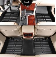 free shipping fiber leather car floor mat for bmw x5/e46/e39/e36/e60/e34/e90/e30/x6/gt series/x1