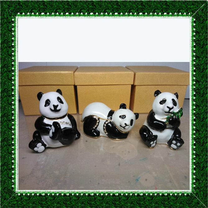 China Style Baby Panda Jewelry Mini Carrying Cases(China (Mainland))