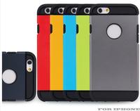 "10pcs 4.7"" SGP Spigen Tough Armor Case For iphone6 6  PC+TPU Slim Armor Hard Back Mobile Phone Cover For iphone 6"