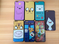 Free shipping Adventure time Lumpy vampire Beemo BMO Jack case for iphone 6 (4.7 inch) hard plastic case